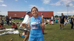 First marathon!  26.2 miles!  Sept 2011