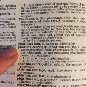 dictionary pharmaceutical